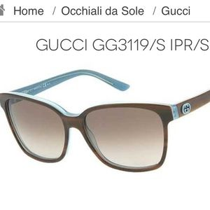 GUCCI Sunglasses - GG 3119/S - Like New Condition